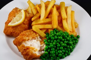 Battered Alaskan halibut fish and chips recipe